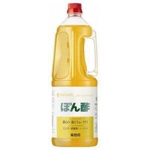 ●ミツカン ぽん酢 1.8LPET【業務用】c6#2200