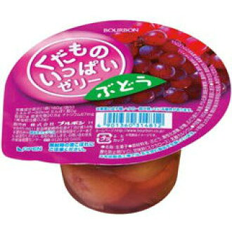 -Fill Bourbon fruit jelly grape 160gx12 on ■ t4