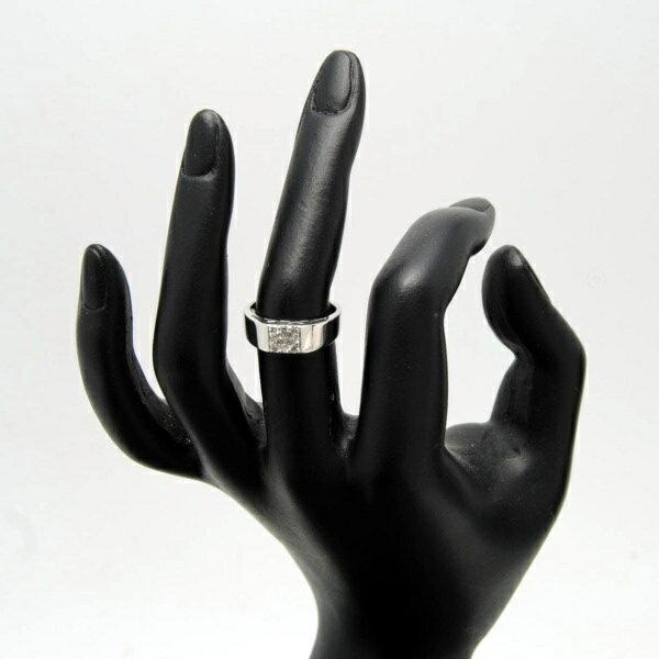♪リング 指輪♪ K18WG/ダイヤD0.30/#12 【JR924】【税込価格】【質屋出店】【中古】【あす楽対応】