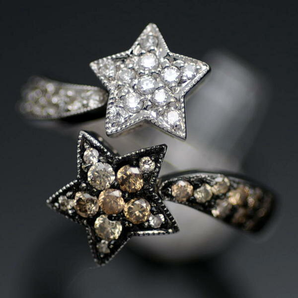♪リング 指輪♪ K18WG/ダイヤD0,62/#13 【JR1234】【税込価格】【質屋出店】【中古】【あす楽対応】