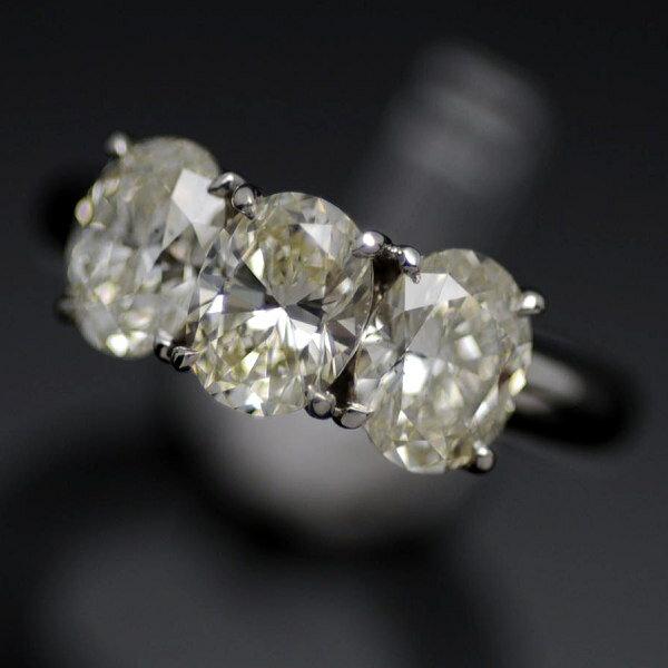 ♪リング 指輪♪ Pt900/ダイヤD0,740 0,776 0,705/#8 【JR1241】【税込価格】【質屋出店】【中古】【あす楽対応】