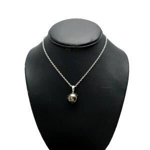 ♪ネックレス♪Pt850Pt900/南洋黒真珠14mmダイヤ付【JR1580】【税込価格】【質屋出店】【中古】【あす楽対応】