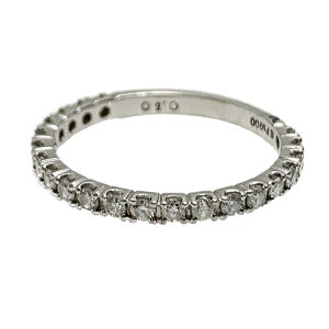 ♪リング 指輪♪ Pt900/ダイヤD0,50/ハーフエタニティ/#14 【JR1601】【税込価格】【質屋出店】【中古】【あす楽対応】
