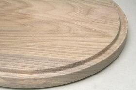 木のカッティングボード/まな板丸型