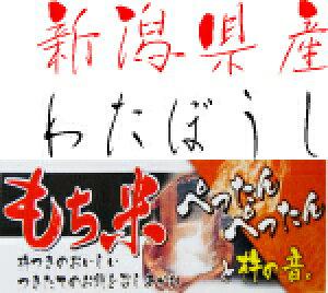 【送料無料】30年産 新潟県 わたぼうし もち米 玄米 1等 25kg