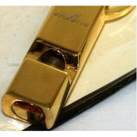 【中古】本物綺麗BELLAGIO金色メタル素材の本体が笛になっているキーホルダー 301016-11