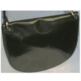 1618b0e97914 【中古】本物美品プラダ女性用26センチ半円形黒ガラスカーフ
