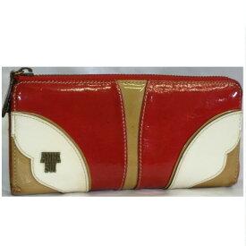【中古】本物可アナスイ女性用L字ファスナー長財布 サイズW19,5H9D3cm