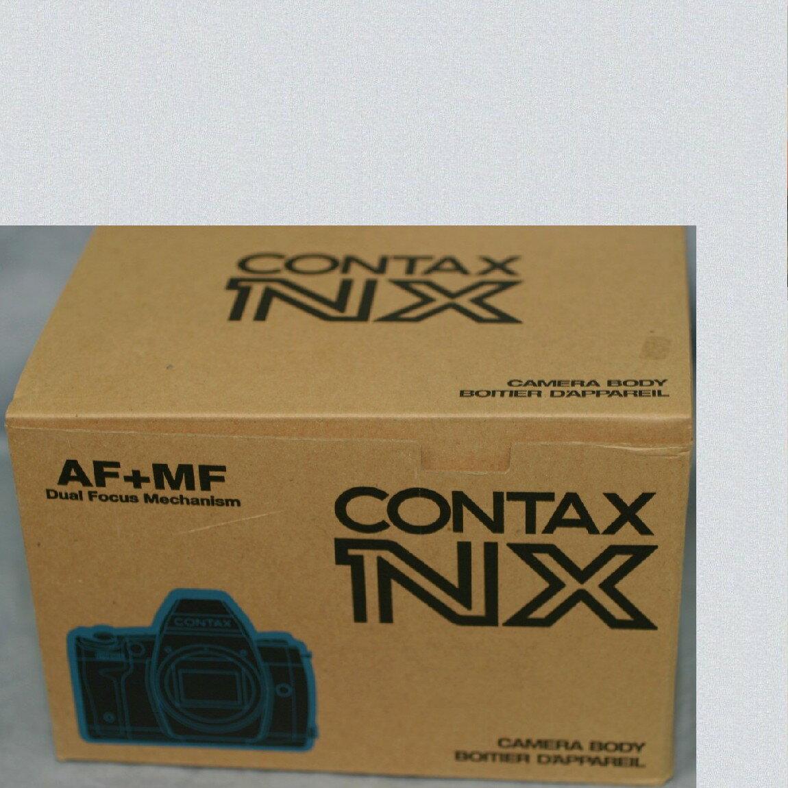 【中古】本物新品未開封コンタックス94000円AF+MFカメラNX