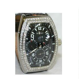 【本物】完動美品ポールピコPAULPICOTファーシャー3000レギュレーター自動巻きでステンレス素材に沢山のダイヤを埋め込んだ高級感漂う時計 型番は0740,SN 1ヶ月保障付 ○S14-3