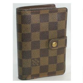 【中古】本物美品L/Vダミエ柄女性用がま口式財布N61664 サイズW13,5H8,5D2cm ○C14-132