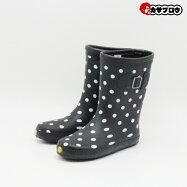 [ELMARINE]エレマリーンレインブーツ女子長靴EM01850水玉