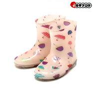 [モンフレール]KB7008キッズレインブーツ女の子長靴