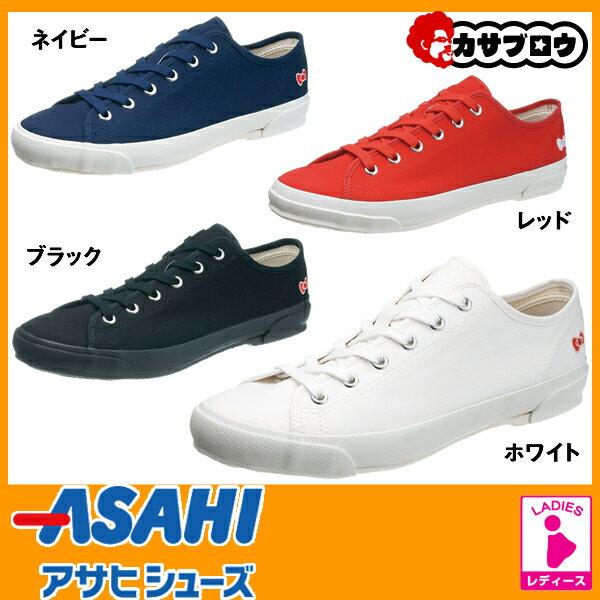 レディース スニーカー ハローキティ L054 アッパーキャンバス 2E 日本製 ASAHI 【送料無料】