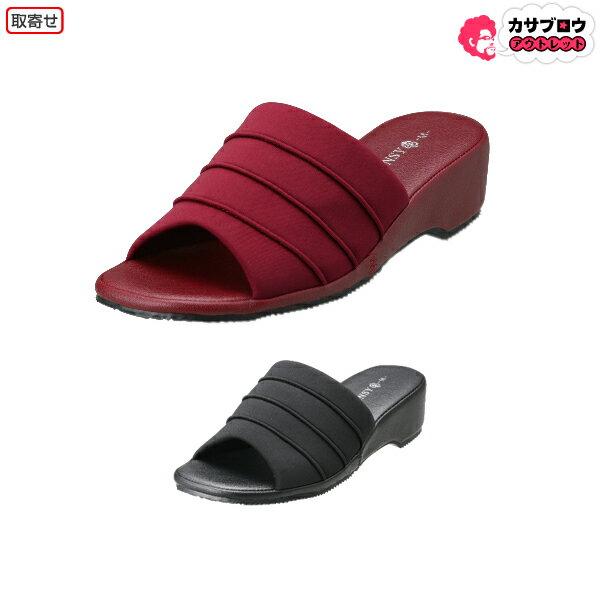 [Pansy] デイリーサンダル  6805 パンジー 快適 レディース シンプル 痛くない 疲れない おしゃれ 20mm ヒール 歩きやすい 履きやすい オフィス ロングセラー