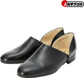 ハルタ スポックシューズ HARUTA メンズ ブラック 黒 2E 850本革 牛革 ビジネスシューズ 日本製 定番 フォーマル靴 発表会 指定靴