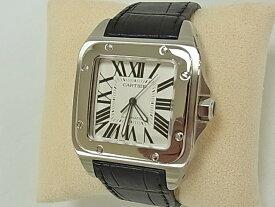 カルティエ Cartier サントス100LM 【中古】 【腕時計】 【送料無料】