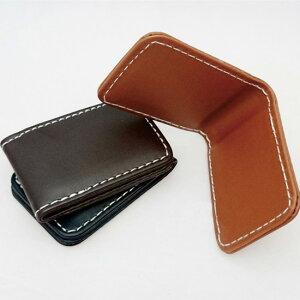 送料無料 マネークリップ フェイクレザー 合皮 札入れ さいふ カード 財布 金具 ウォレット 薄い 薄型 かわいい ケース 携帯 北欧 ペア カードケース おしゃれ スライド ポシェット ボックス