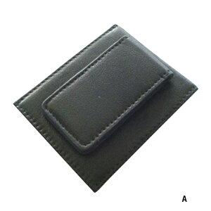 送料無料 マネークリップ 本革 レザー 札入れ さいふ カード 財布 金具 ウォレット 薄い 薄型 かわいい ケース 携帯 北欧 ペア カードケース おしゃれ スライド ポシェット ボックス パスケー
