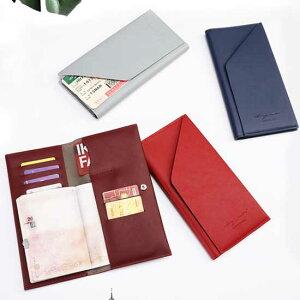 送料無料 パスポートケース 航空券 トラベルポーチ パスポートカバー 旅行 チケット オーガナイザー 小物入れ クラッチ スマホ バッグ 北欧 カード入れ おしゃれ 財布 通帳 パスケース ポシ