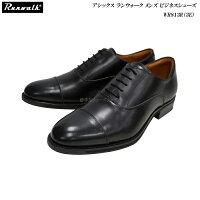 アシックス/ランウォーク/メンズ/ビジネスシューズ/靴/WR813R/WR-813R/ブラック/3E/asics/Runwalk/内羽根ストレートチップ