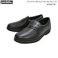 アシックス/ペダラ/メンズ/ウォーキングシューズ/靴/WPD407/ブラック/4E/ラウンド/pedala/asicswalking