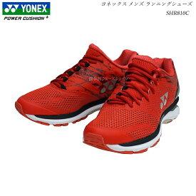 ヨネックス パワークッション ジョギング ランニングシューズ セーフランメンズ SHR-810CM SHR810CM フラッシュレッド 靴 パワークッション YONEX Power Cushion Running Shoes