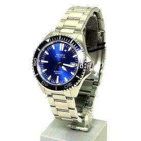 【未使用品】エポス★epos スポーティブ 3413BLM メンズ腕時計 紺文字盤