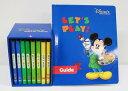 【新着】◆レッツプレイDVD全8巻◆ディズニー英語システム 【中古】ワールドファミリー DWE 英語教材 幼児教材 子供教材 知育教材