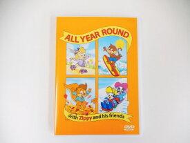 【新着】◆ZippyDVD 「ALL YEAR ROUND」◆ディズニー英語システム【中古】ワールドファミリー DWE 英語教材 幼児教材 子供教材 知育教材 510191