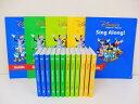 R【新着】◆シングアロング【2010年】DVD全12巻+ガイド◆ディズニー英語システム【中古】ワールドファミリー DWE 英語…