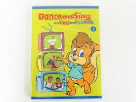 【新着】◆「Dance and Sing with Zippy and his friends 2」Zippy DVD◆ディズニー英語システム【中古】ワールドファミリー DWE 英語教材 幼児教材 子供教材 知育教材 410102 DZIP0014