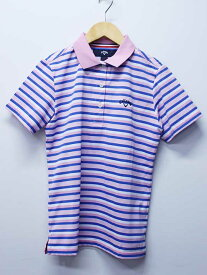【値下げ】■Callaway/キャロウェイ■ゴルフウェア/半袖ポロシャツ ピンク系 レディース M【中古 古着 USED】夏
