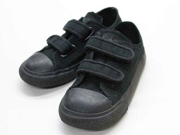 ◎匡威/CONVERSE◎15.5cm運動鞋/鞋/鞋黑全明星[中古的USED]小孩小孩kids男人的子女的孩子