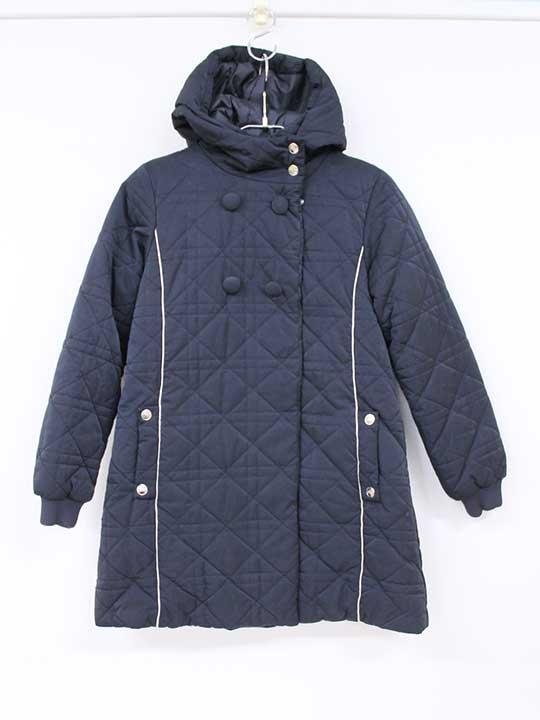 [ディオール/Dior]140cm 中綿コート 黒【中古 USED】子供服 キッズ kids ジュニア 女の子 冬