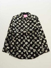 【Fashion THE SALE!】▽ロニィ/RONI▽146-154cm 長袖シャツ 黒【中古 USED】子供服 キッズ kids ジュニア 女の子 春秋 621191