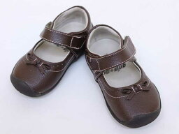 □pedipeto/pediped□13cm鞋/鞋茶色小孩小孩kids嬰兒baby女人的孩子