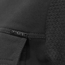 ■DIESELディーゼルメンズ■ステンカラー裾ドローコード袖メッシュジップアップ長袖スウェットブルゾン【S-CAPSULE】【サイズXS・S】【ブラック】die-m-t-94-185詳細画像3
