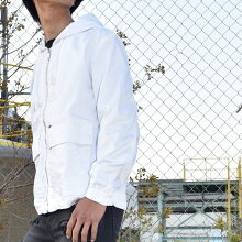 ■DIESELディーゼルメンズ■薄手ジップアップスウェットデニムジョグジーンズパーカーフーデッドジャケット【J-DAN-NE】【サイズXS〜XL】【ホワイト】die-m-o-b4-668詳細画像1