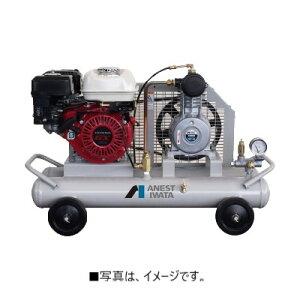 コンプレッサー 100V アネスト岩田 1馬力 PFU07-7 オイルフリー 軽便形 自動アンローダー式 モーター駆動 単相100V