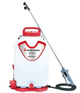 噴霧器 マルヤマ 消毒殺菌剤 バッテリー動噴 霧太郎 MSB1510Li 充電器付き