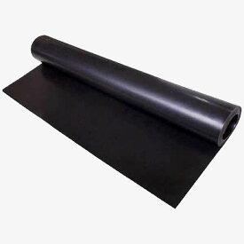 ゴムシート(黒) ゴムマット 厚み3mm×幅1m×長さ10m KIKAIYA