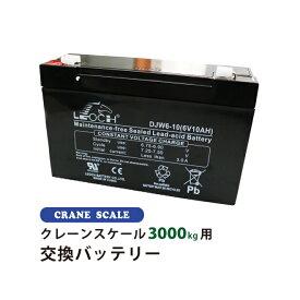 クレーンスケール3000kg(CS-3000)用 交換バッテリー (旧モデル)KIKAIYA