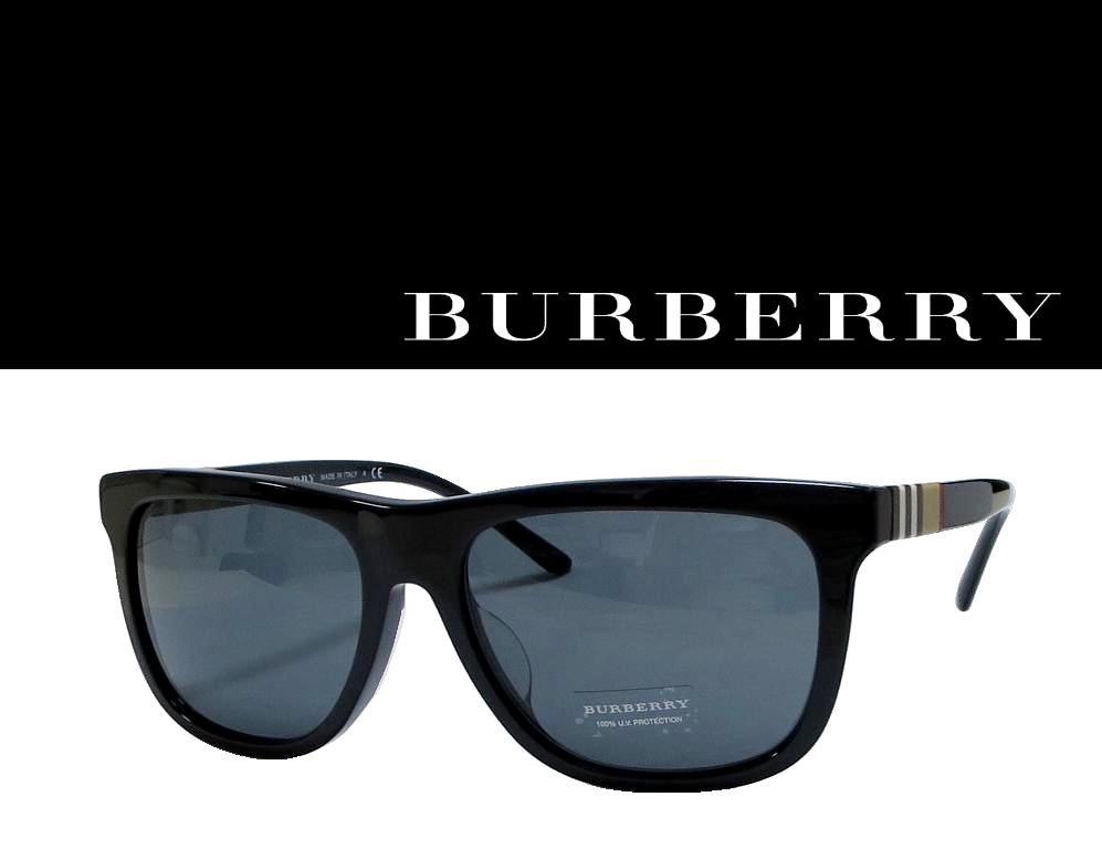 送料無料【BURBERRY】バーバリー サングラス B4201F   3001/81  ブラック 国内正規品 《数量限定特価品》