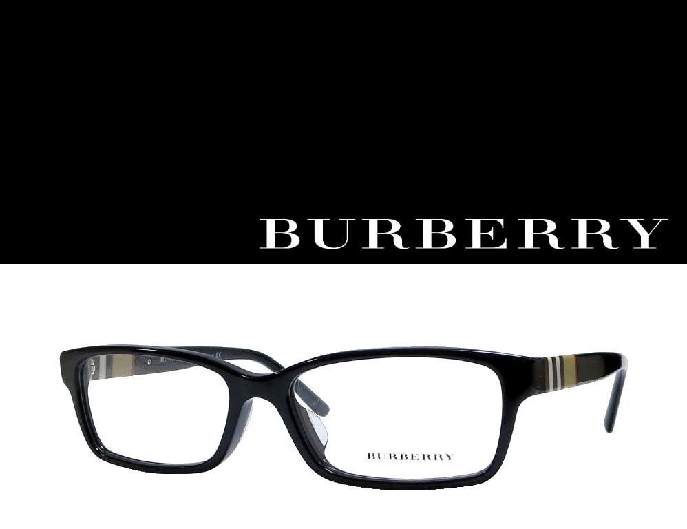 送料無料 【BURBERRY】 バーバリー メガネフレーム BE2207D   3001   ブラック  国内正規品【RCP】