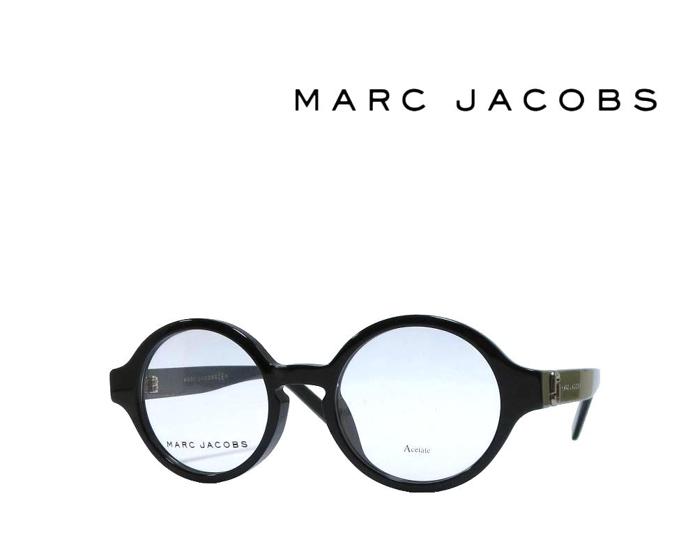 【MARC JACOBS】 マーク ジェイコブス メガネフレーム MARC148/F  807 ブラック アジアンフィット 国内正規品
