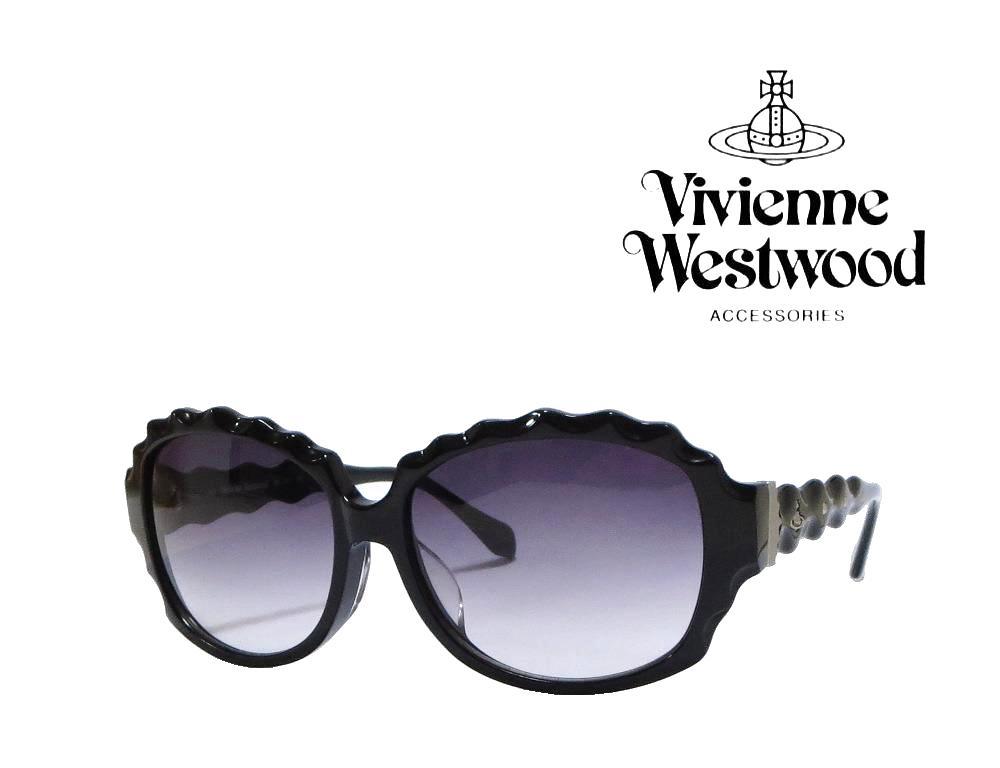 送料無料【Vivienne Westwood】ヴィヴィアン ウエストウッド  サングラス  アッパーライン  VW-3701   BK  ブラック 【RCP】