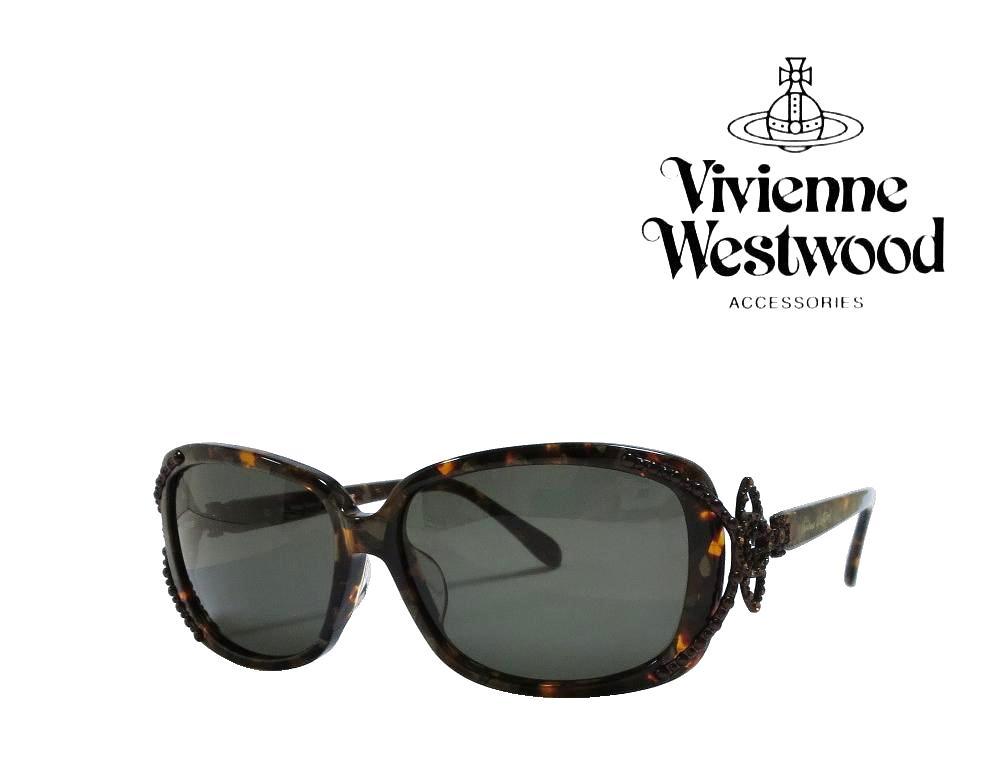 送料無料【Vivienne Westwood】ヴィヴィアン ウエストウッド  サングラス  アッパーライン  VW-3703   RP  ブラウンパターン 【RCP】