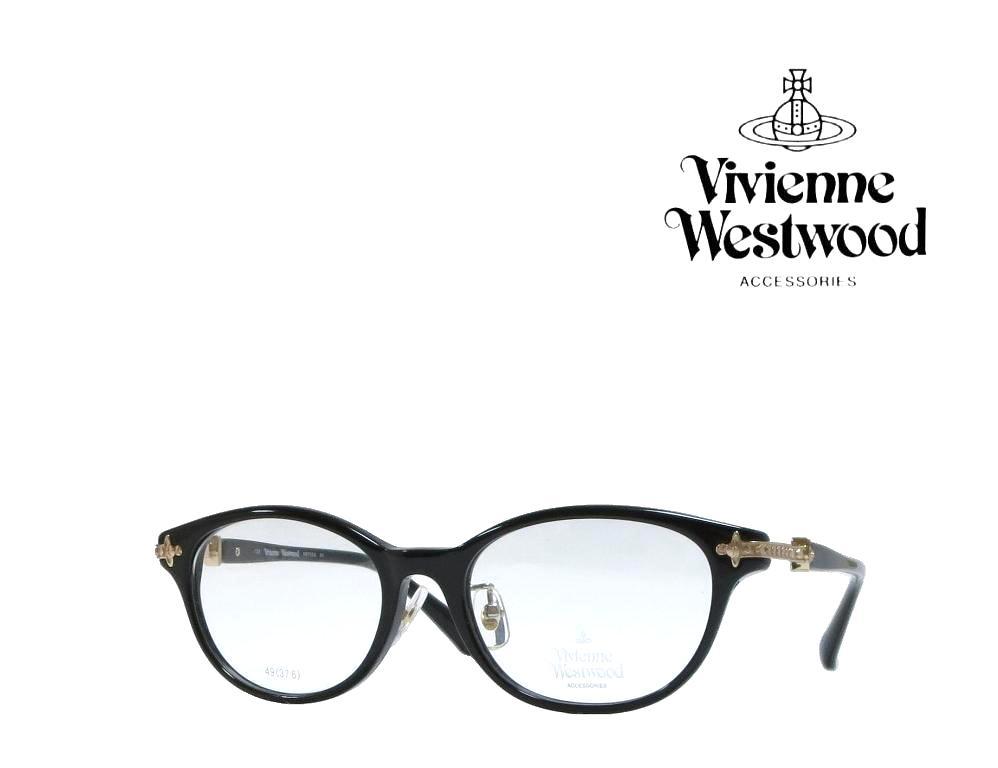 送料無料【Vivienne Westwood】ヴィヴィアンウエストウッド メガネフレーム VW-7059  BK  ブラック