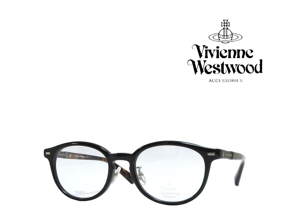 送料無料【Vivienne Westwood】ヴィヴィアンウエストウッド メガネフレーム VW-9017  BK  ブラック